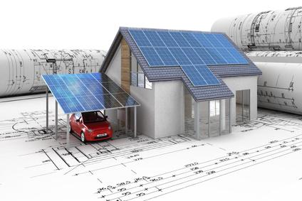 Photovoltaik auf Gebäuden